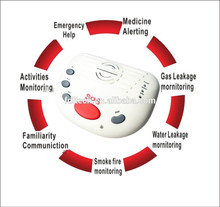 sos alarm emergency calling system with wireless panic button