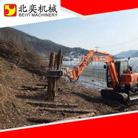 Rotating wood hydraulic wood grapple made in china high power