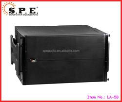 SPE Audio LA-5B dual 15 inch 1200W pro line array subwoofer
