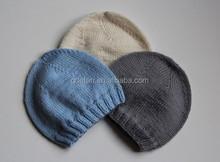 Custom baby knitted cap handmade newborn baby hat and caps