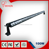 Guangzhou 100w single row 5w chips led light bar for atvs
