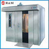 Manufacture direct sale 380v bakery rotary gas oven prices rotary rack oven for baking loaf bread