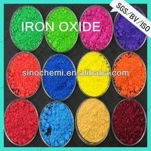 transparent iron oxide pigment on solvent base for wood paints