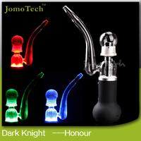 2015 latest technology glass pipe smoking glass bubbler smoking pipe
