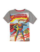 Custom design kinder sommer tragen großhandel Superman druck kinder t-shirt design