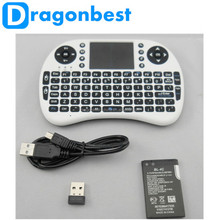 Rii i8 air mouse +2.4G Wireless Mini Keyboard for Google Android Devices air mouse with hebrew keyboard for smart tv