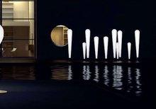 NEW design rechargeable RGB LED Illuminated Furniture - Bat Floor Lamp