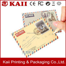 custom size and design paper envelope factory price and excellent service