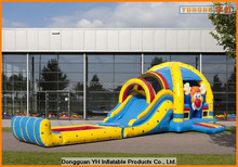 giant inflatable water slide with pool multiplay super clown manufacturer in Dongguan