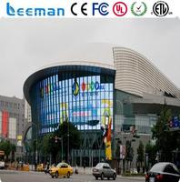 Leeman SMD outdoor full color led screen p10 led glasses display