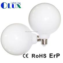 170-240V LED ball bulb G125, Hanging Led Globe G125, milky cover E27 G125 led bulb