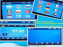 Best sale double din digital touch screen car stereo and function optional