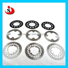 Motorcycle spare parts Front brake disc Rear brake disc for go kart brake disc motorcycle