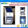 alibaba trade assurance supplier Powerful Solar Light For Garden/wall with motion sensor, human body sensor light
