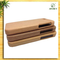 High quality 100% nature full wood custom for iPhone 6 plus cover in guangzhou china