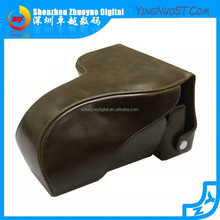 2015 Hotsale Promotional Leather Camera Bag Cover Protecting Case For Canon 600D