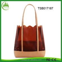 new product China supplier fashion hot selling women plastic handbag