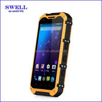4.3inch Quad Core Android 4.4.2 tough mobile phone 3G wifi GPS 2 cameras 2MP+5MP dusl SIM cards A9