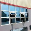 Tempered glass models aluminum windows