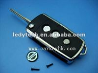 Good quality Nissan 3 button remote flip key blank
