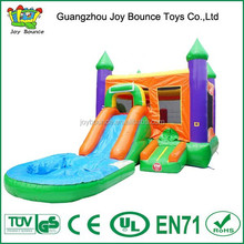 inflatable water slide castle,used commercial bouncer with water slide,inflatable bouncy castle with slide