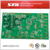 FR4 1.6mm 3OZ Bare pcb Board Lead Free HASL Thickness 8Layers PCB in China