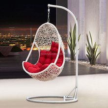 egg swing chair egg pod chair rattan hanging chairs