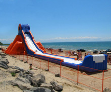 Fashionable giant inflatable water slide for adult