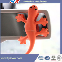 Gecko shape custom california scents car air freshener