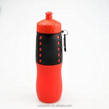 Pieghevole bottiglia di acqua all'ingrosso, affascinante ingenuo bottiglia di acqua, bottiglia di plastica