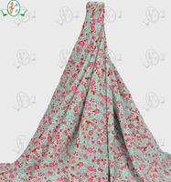 Small floral printed single jersey elastane underwear fabric