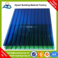 Triple layer discount supply polycarbonate multiwall sheet
