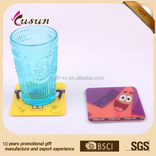 Cute Good Quality Logo Branded Promotional Acrylic Coasters