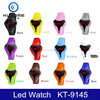 2015 new arrival digital silicone bracelet led watch with fashion design for man