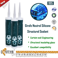 High Strength Structual Non-toxic Glass Silicone Sealant