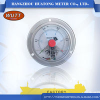 Supplier of china products 0~150C/F -40~300 C temperature sensor Stainless Steel Differential Manometer