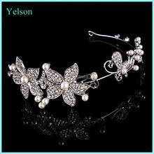 New design Bridal hair accessory Bridal crown Bridal jewelry crystal hair headband
