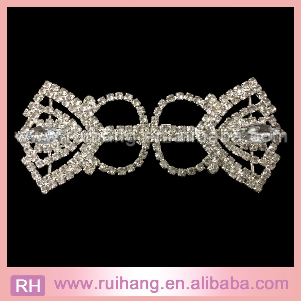 New Arrival Wholesale Rose Gold Crystal Rhinestone Pair