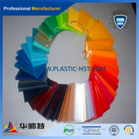 100% Pure Raw Lucite Color Led Roof Acrylic Panel