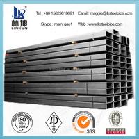 ASTM A500 B rectangular hollow section steel weight