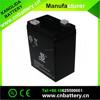 Deep cycle Lead Acid storage battery 6v4ah for emergency light