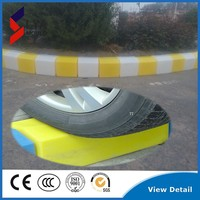 stepping stone concrete road side stone with LED light border