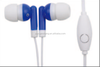 High quanlity of earphone with Mic put in a round case