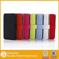 Hot & New Spring Korea style Colorful PU Leather Case For Samsung Galaxy S5 I9600