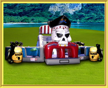 cheap pirate adult obstacle course /giant inflatable obstacle course for adults
