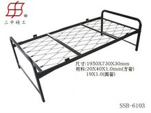China Factory Home Metal Ikea Folding Bed Designs