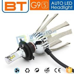 Car Hi Lo Beam Fanless Auto LED h4 Conversion Kits / h4 LED Headlight / LED Headlight Bulb