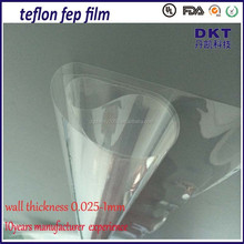 export good quality pure teflon film tape with silicone adhesiv