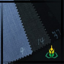 China manufacturer fancy high quality twill dyed suit fabric men's wear tr suiting
