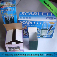 high end corrugated E fult paper Electrical packaging box